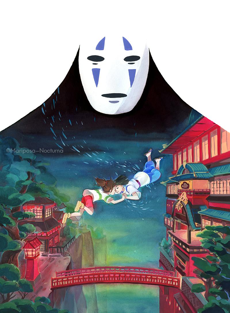 Spirited Away - Magical Movie Festival Fan Art (39484895