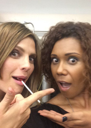 Stana and Tonkin-BTS