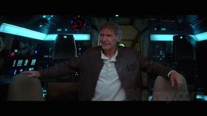 nyota Wars: The Force Awakens - Blu-ray Screenshots