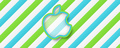 Stripe Wallpaper - apple photo
