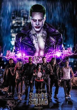 Suicide Squad Live Action Poster