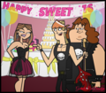 Sweet 16 i think not - total-drama-island fan art