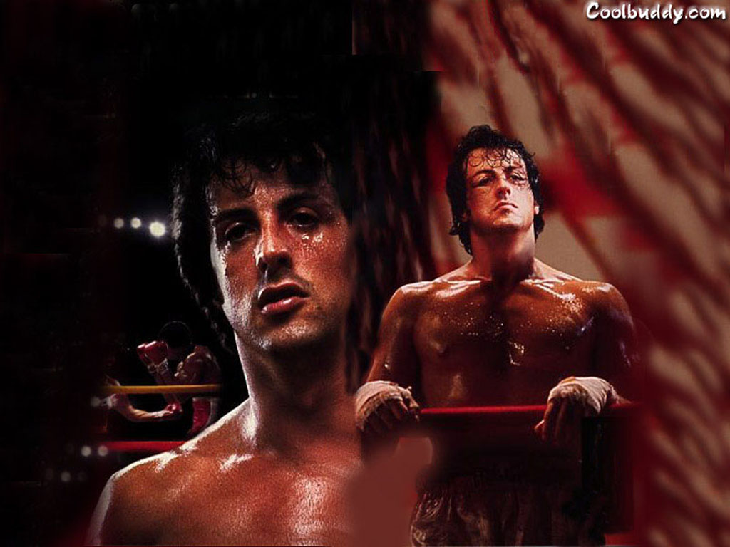 Sylvester Stallone as Rocky