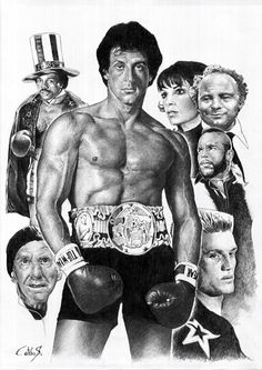 Sylvester Stallone wallpaper possibly containing a hunk, a six pack, and skin entitled Sylvester Stallone as Rocky