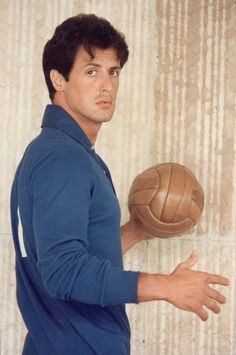 Sylvester Stallone wallpaper probably containing a dribbler, a basketball, and a basketball player titled Sylvester Stallone