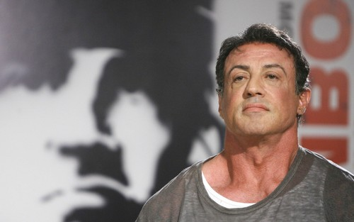 Sylvester Stallone wallpaper possibly containing a singlet and a portrait called Sylvester Stallone