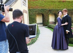 TV Guide Magazine's Photoshot Behind The Scenes Picture