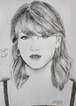 Taylor Swift Sketch by me