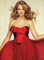 Taylor Swift looks stunning in red
