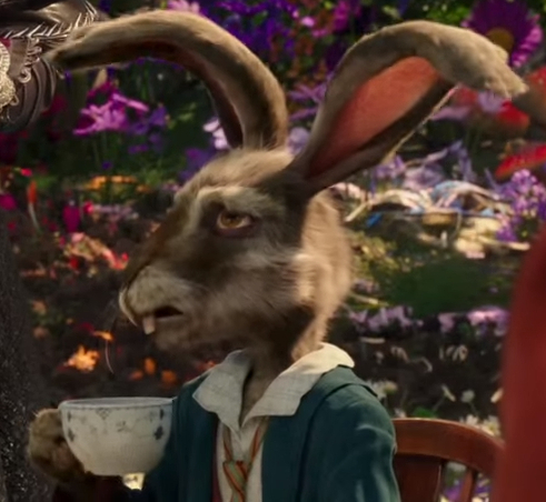 March hare images thackery through the looking glass for March hare wallpaper