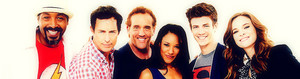 The Flash Cast - perfil Banner