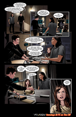 The Flash - Episode 2.16 - Trajectory - Comic prévisualiser