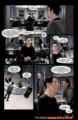 The Flash - Episode 2.17 - Flash Back - Comic anteprima