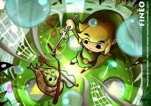 The Legend of Zelda The Wind Waker sejak Fineoart