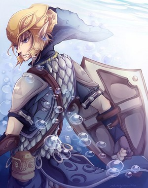 The Legend of Zelda Twilight Princess Link Serene Fortitude door marymarhta on deviantART