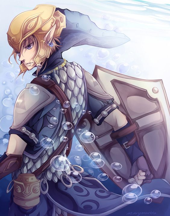 The Legend Of Zelda Twilight Princess Link Serene Fortitude