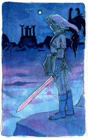 The Legend of Zelda Twilight Princess Link and Midna