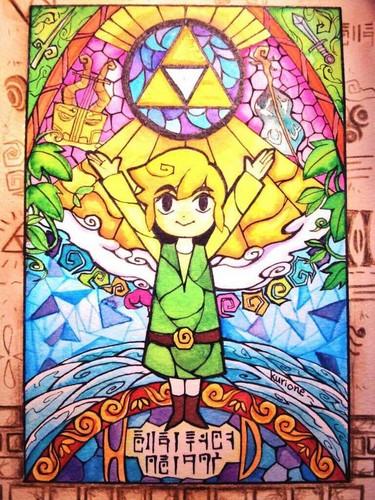 zelda windwaker wallpaper