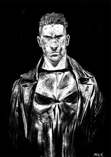 Daredevil (Netflix) 壁紙 titled The Punisher