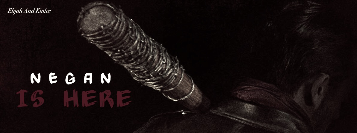 The Walking Dead Negan Is Here