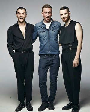 Theo, Adam and somebody else