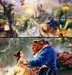 Thomas Kinkade's Beauty and the Beast