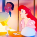 Tiana and Ariel - walt-disney-characters icon