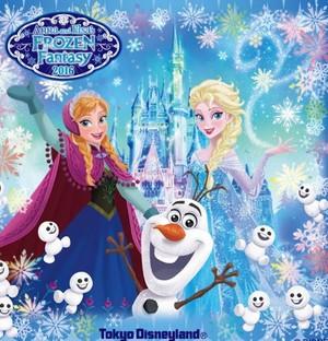 Tokyo Дисней Resort Anna and Elsa's Холодное сердце Фэнтези