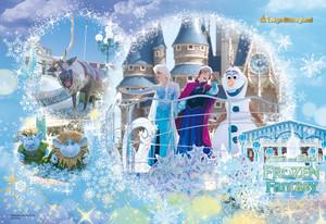 Tokyo disney Resort frozen fantasía