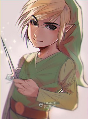 Toon Link par ilaBarattolo