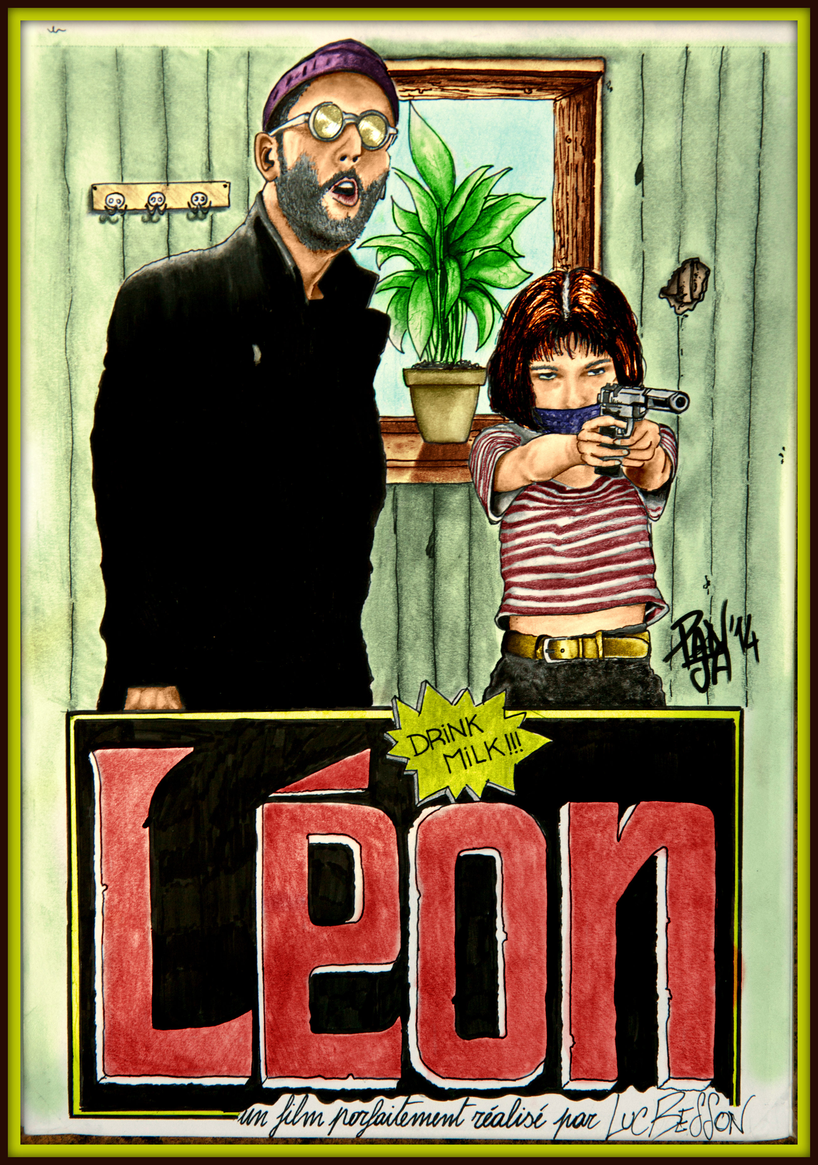 Tribute Poster Léon - The Professional