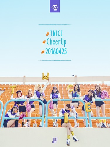 Twice (JYP Ent) वॉलपेपर titled Twice Cheer Up Teaser
