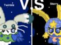 Twinkle VS. Starry!