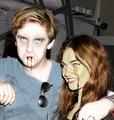 Vampire and Zombie