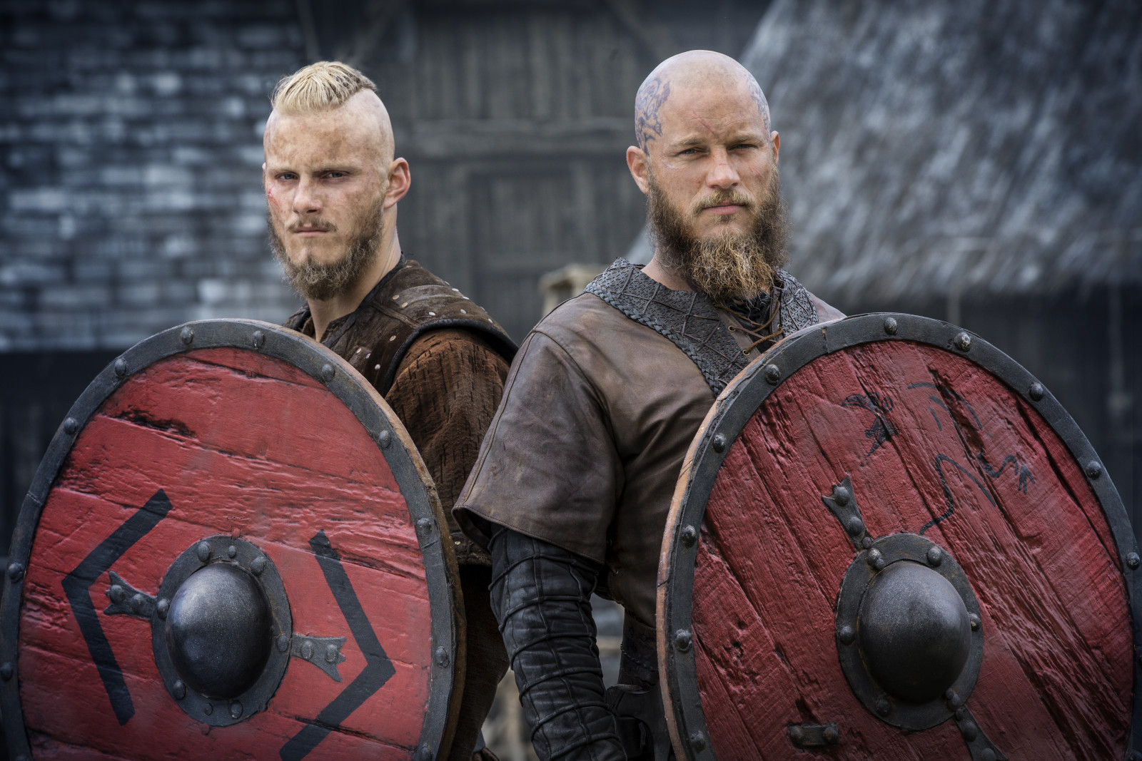 is there gay in vikings tv bjorn