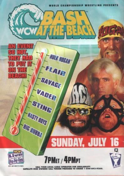 WCW Bash At The সৈকত 1995