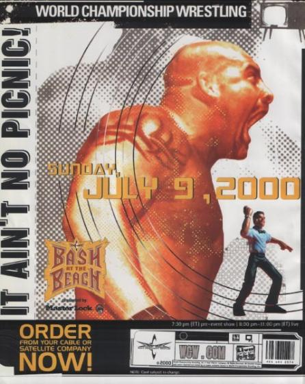 WCW Bash At The bờ biển, bãi biển 2000