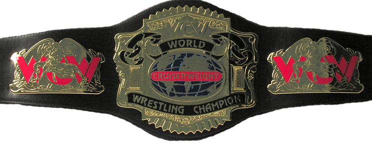 WCW Cruiserweight Championship 带, 皮带
