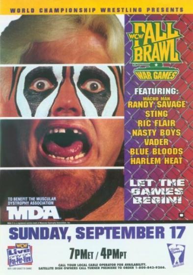 WCW Fall Brawl 1995