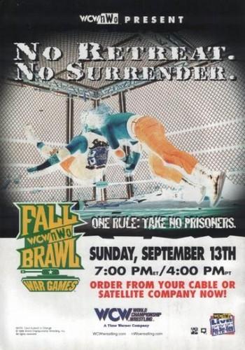 World Championship Wrestling 壁纸 titled WCW Fall Brawl 1998