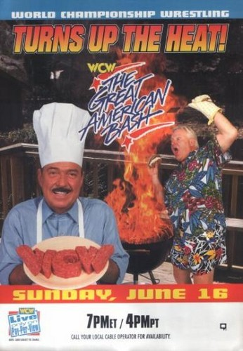 World Championship Wrestling 壁纸 with 日本动漫 titled WCW Great American Bash 1996