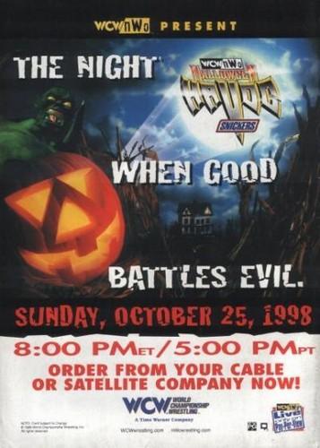 World Championship Wrestling hình nền entitled WCW Halloween Havoc 1998