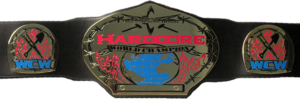 WCW Hardcore Championship Belt Version 1