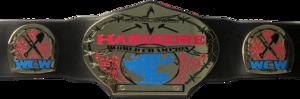 WCW Hardcore Championship बेल्ट Version 1