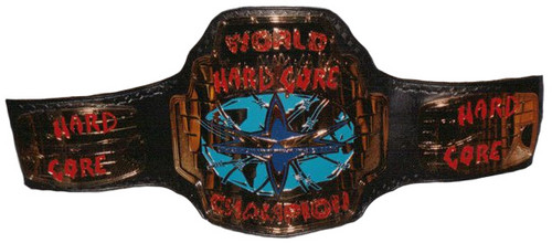 World Championship Wrestling 壁纸 possibly containing a fleur de lis, a breastplate, and a shoulder pad titled WCW Hardcore Championship 带, 皮带 Version 2