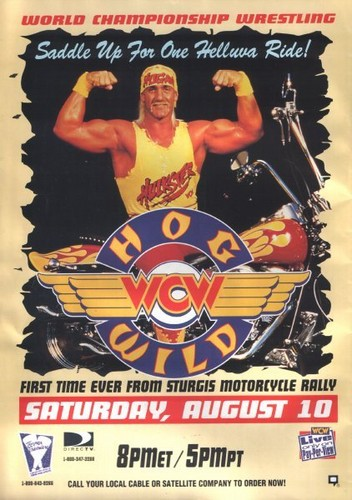 World Championship Wrestling 壁纸 containing 日本动漫 called WCW Hog Wild 1996