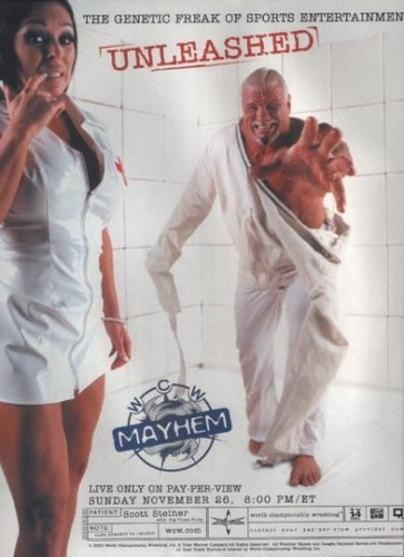 World Championship Wrestling 壁纸 called WCW Mayhem 2000