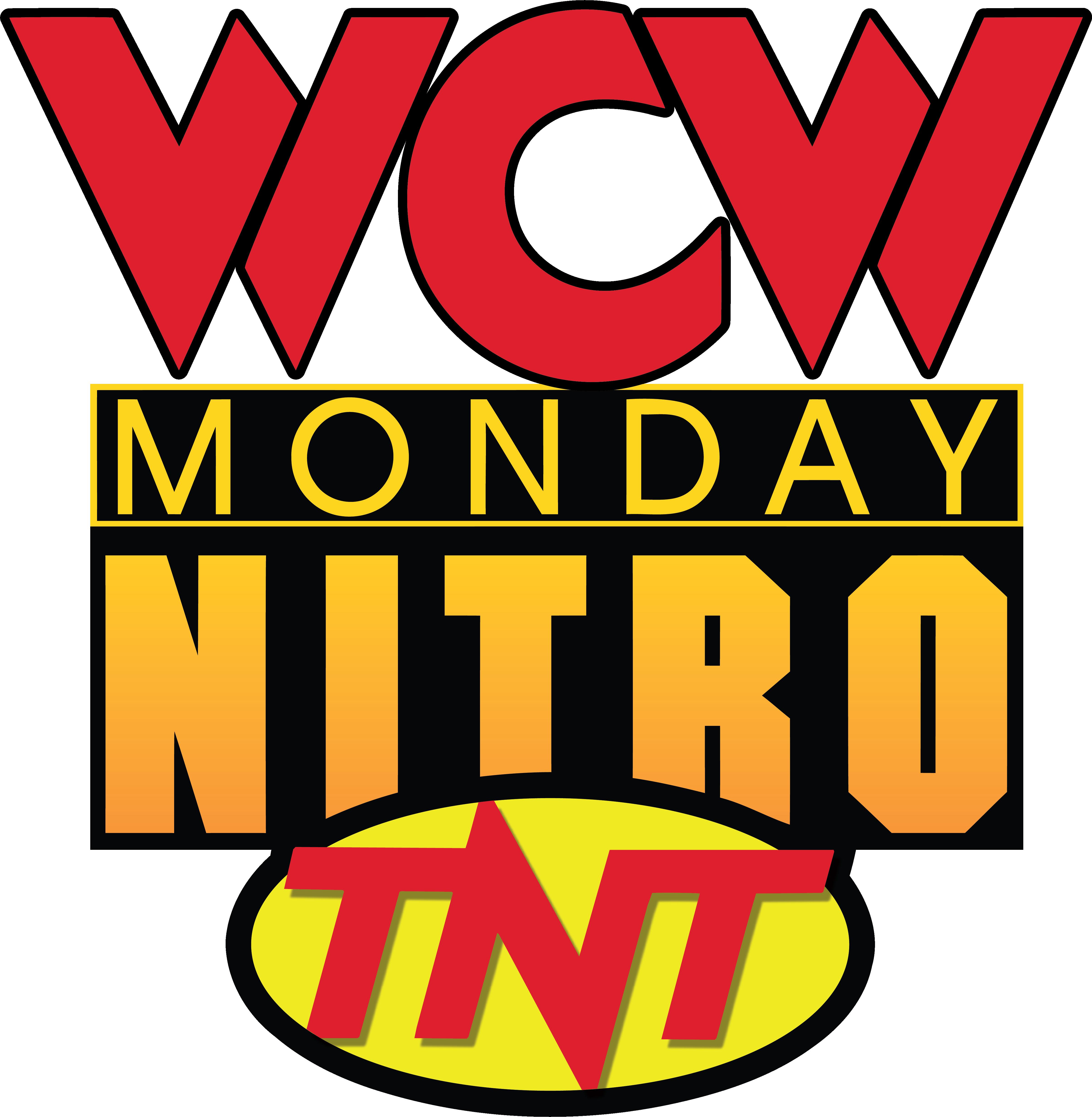 WCW Monday Nitro 1'st Logo - World Championship Wrestling