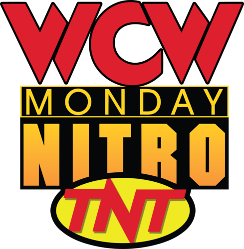 World Championship Wrestling Hintergrund with Anime entitled WCW Monday Nitro 1'st Logo