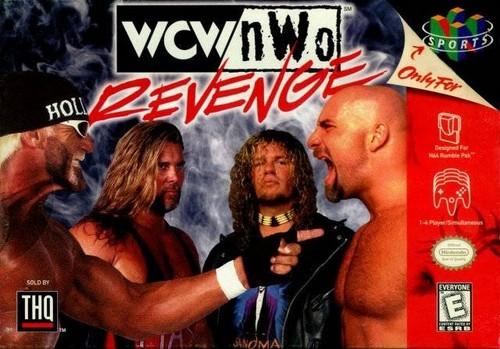 World Championship Wrestling Hintergrund containing Anime called WCW Revenge